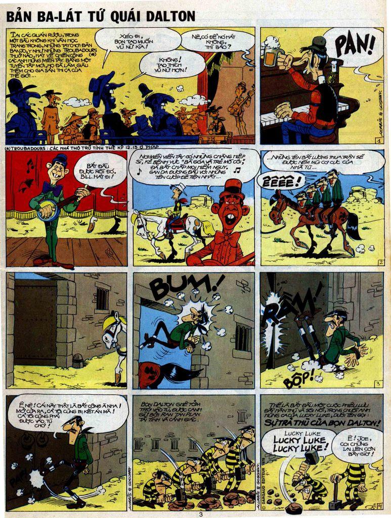 Lucky Luke tập 51 trang 1