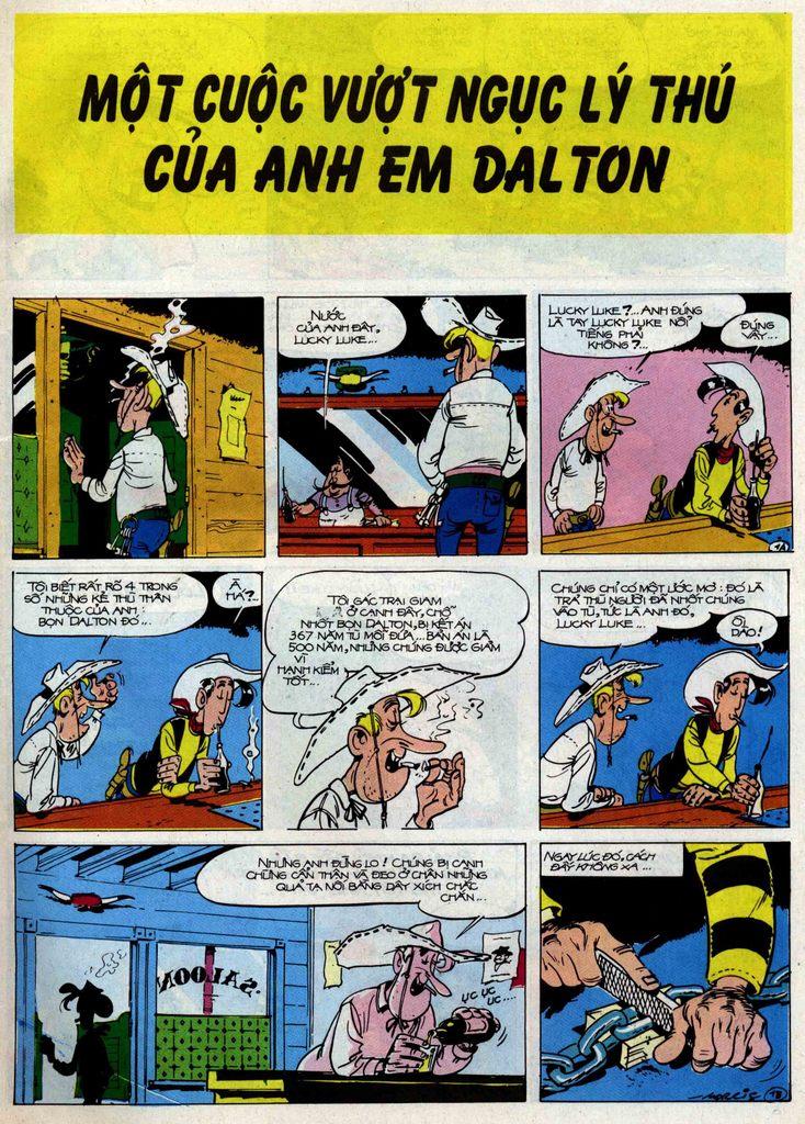 Lucky Luke tập 50 trang 1