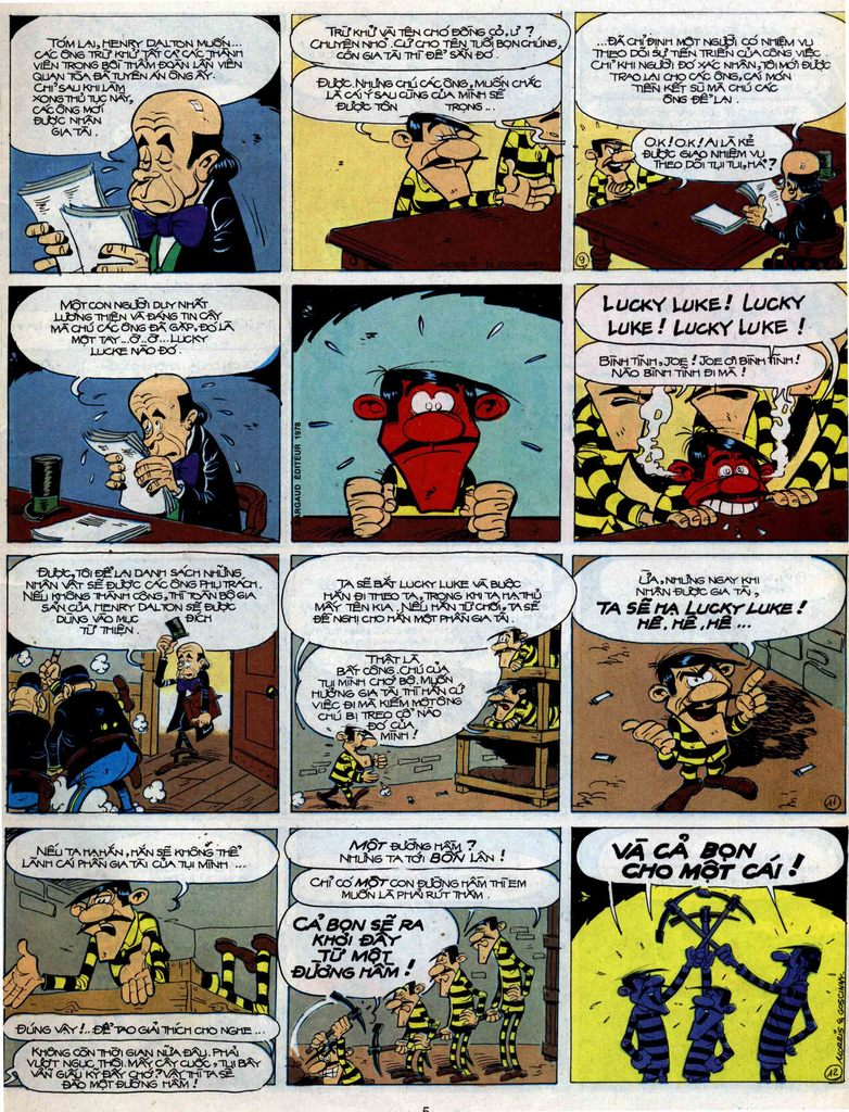Lucky Luke tập 51 trang 3
