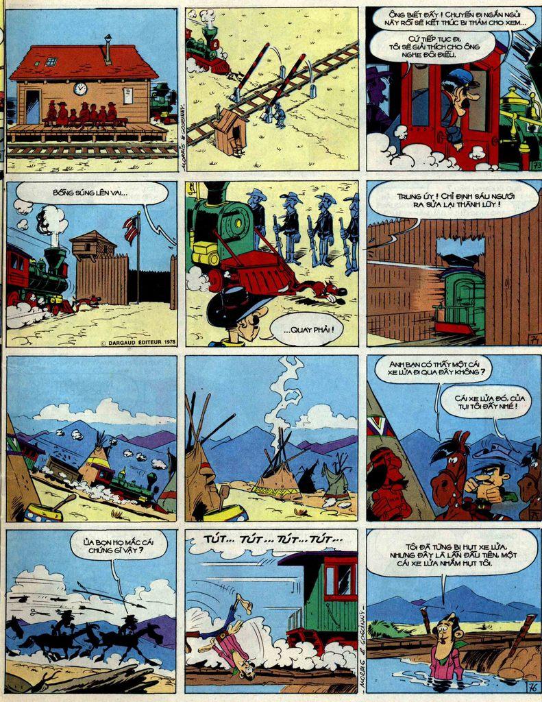 Lucky Luke tập 51 trang 19