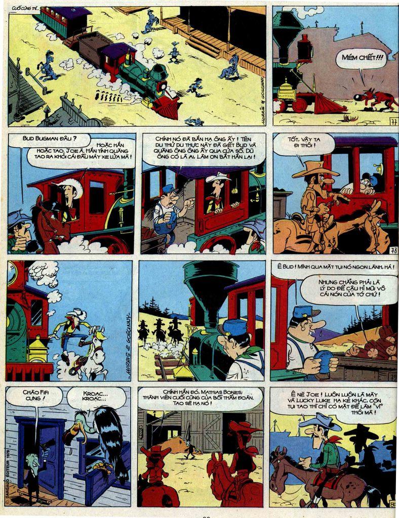 Lucky Luke tập 51 trang 20