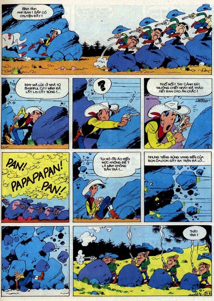 Lucky Luke tập 50 trang 25