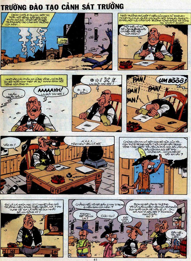Lucky Luke tập 51 trang 39