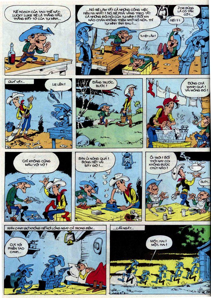 Lucky Luke tập 50 trang 28
