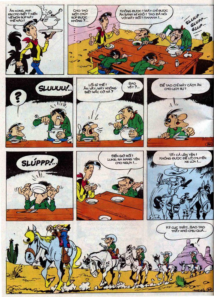 Lucky Luke tập 50 trang 32