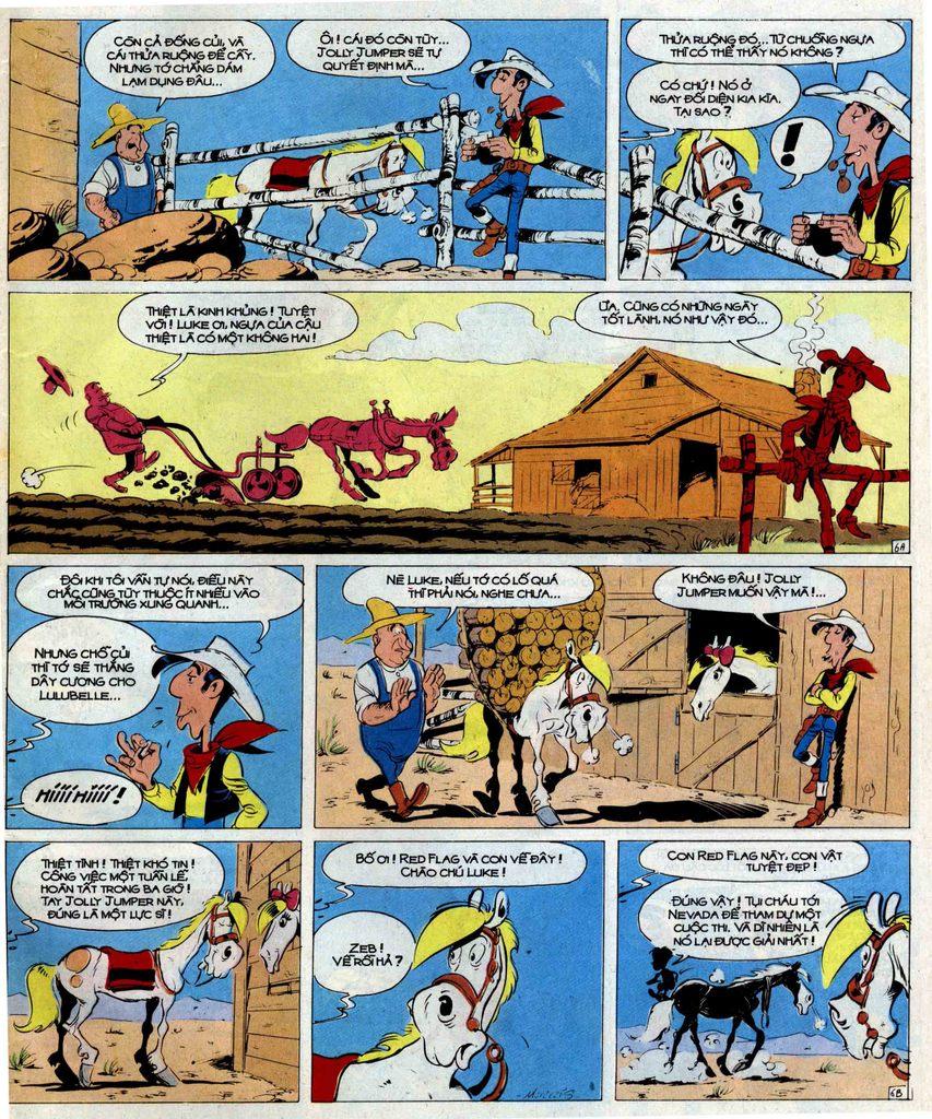 Lucky Luke tập 51 trang 33
