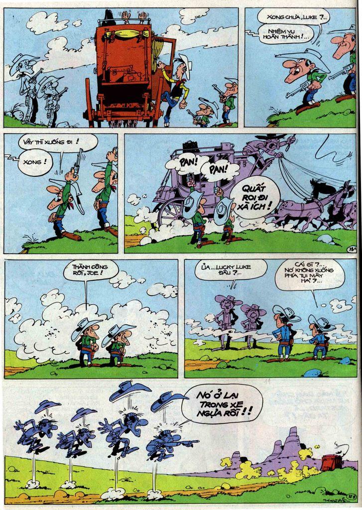 Lucky Luke tập 50 trang 38