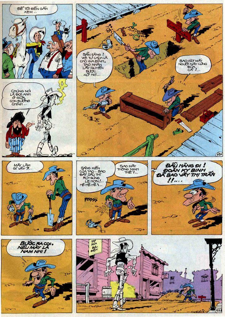 Lucky Luke tập 50 trang 43
