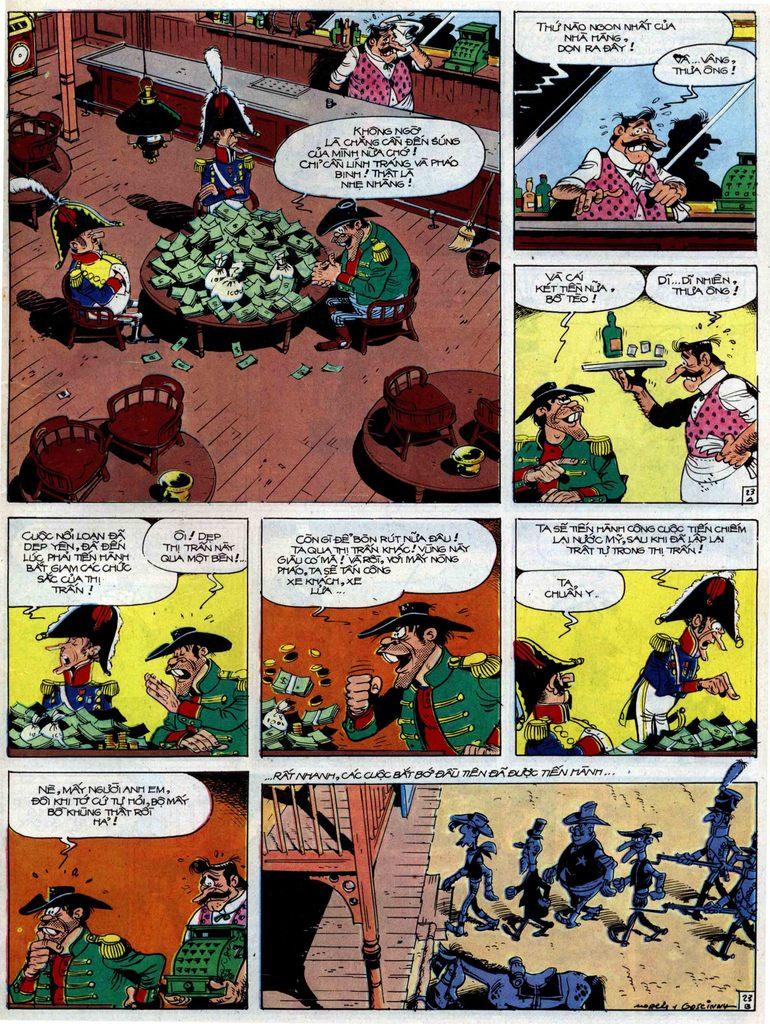 Lucky Luke tập 47 trang 23