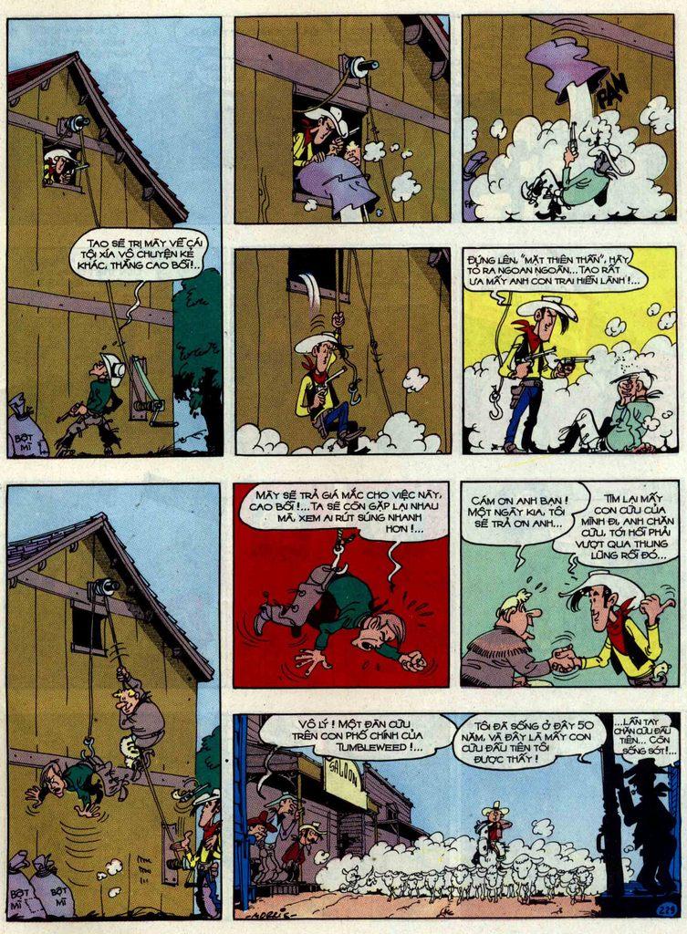 Lucky Luke tập 48 trang 25
