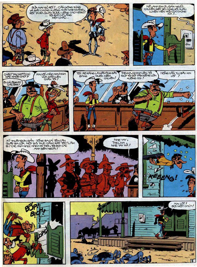 Lucky Luke tập 51 trang 43