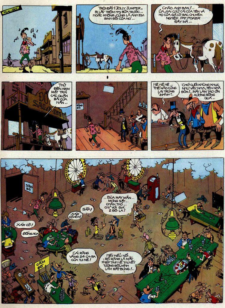 Lucky Luke tập 48 trang 9