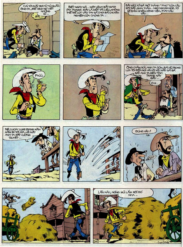 Lucky Luke tập 48 trang 38