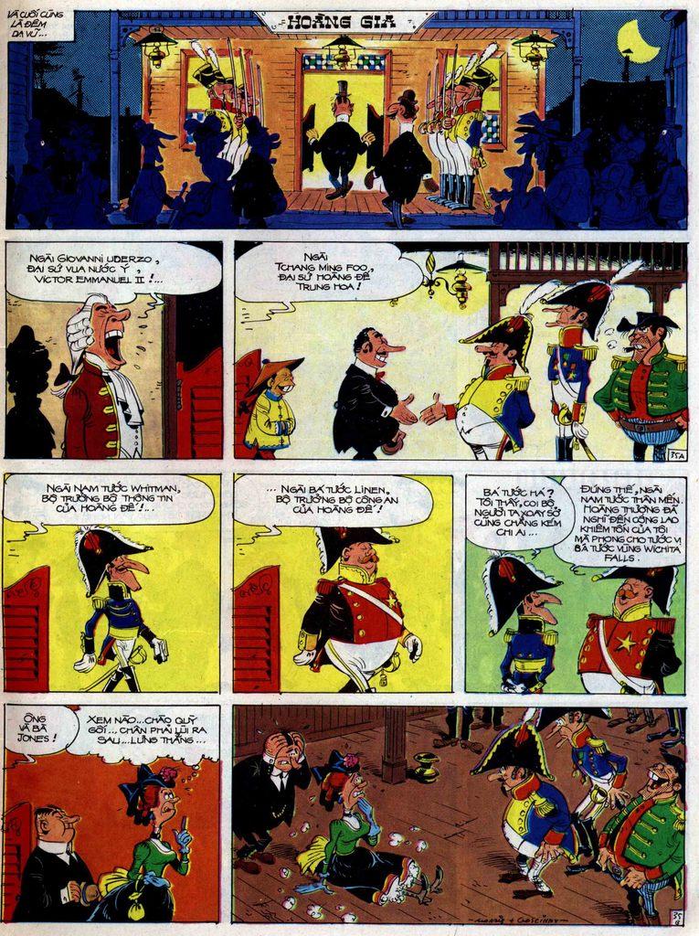 Lucky Luke tập 47 trang 35