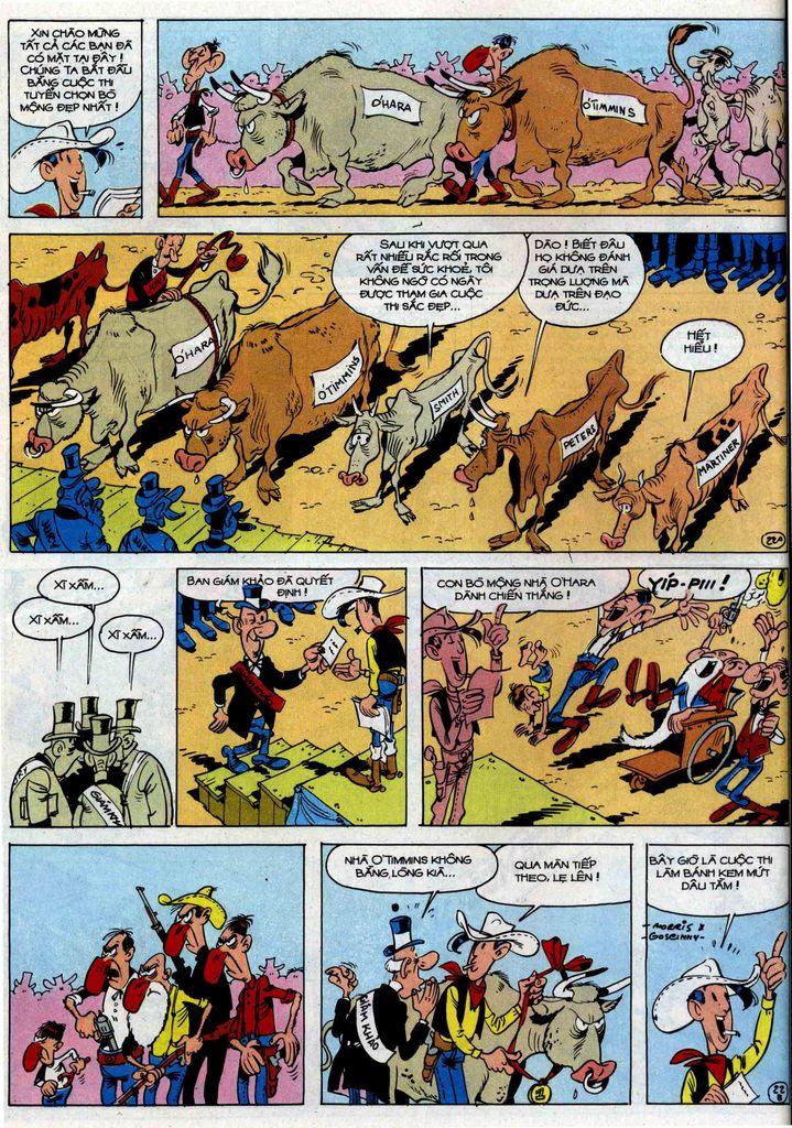 Lucky Luke tập 46 trang 22