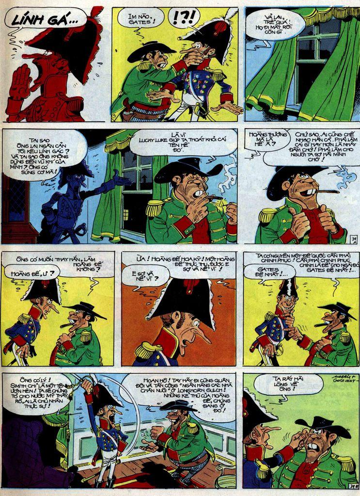 Lucky Luke tập 47 trang 39