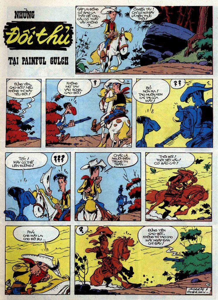 Lucky Luke tập 46 trang 1