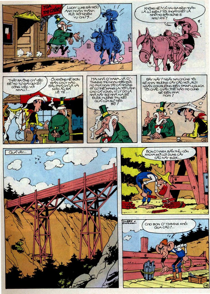 Lucky Luke tập 46 trang 11