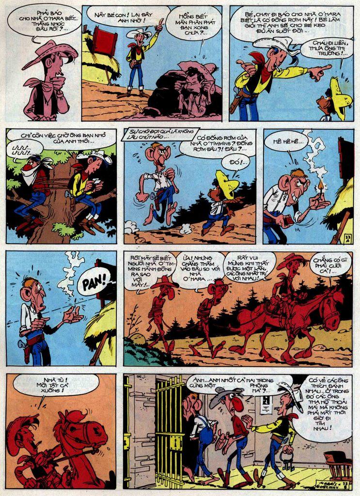 Lucky Luke tập 46 trang 33