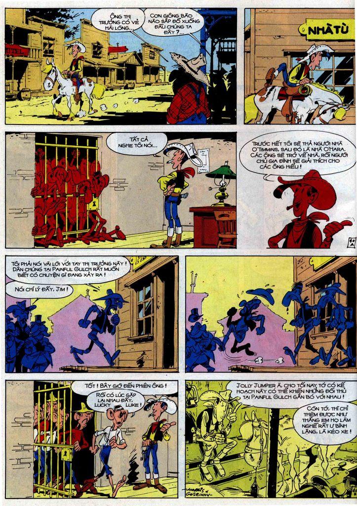 Lucky Luke tập 46 trang 40