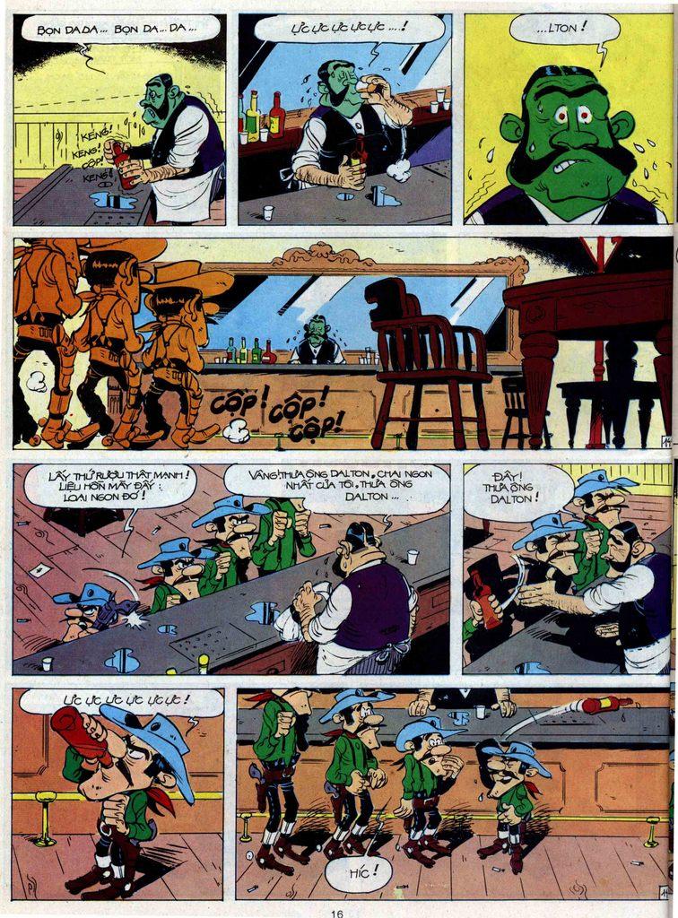 Lucky Luke tập 44 trang 14