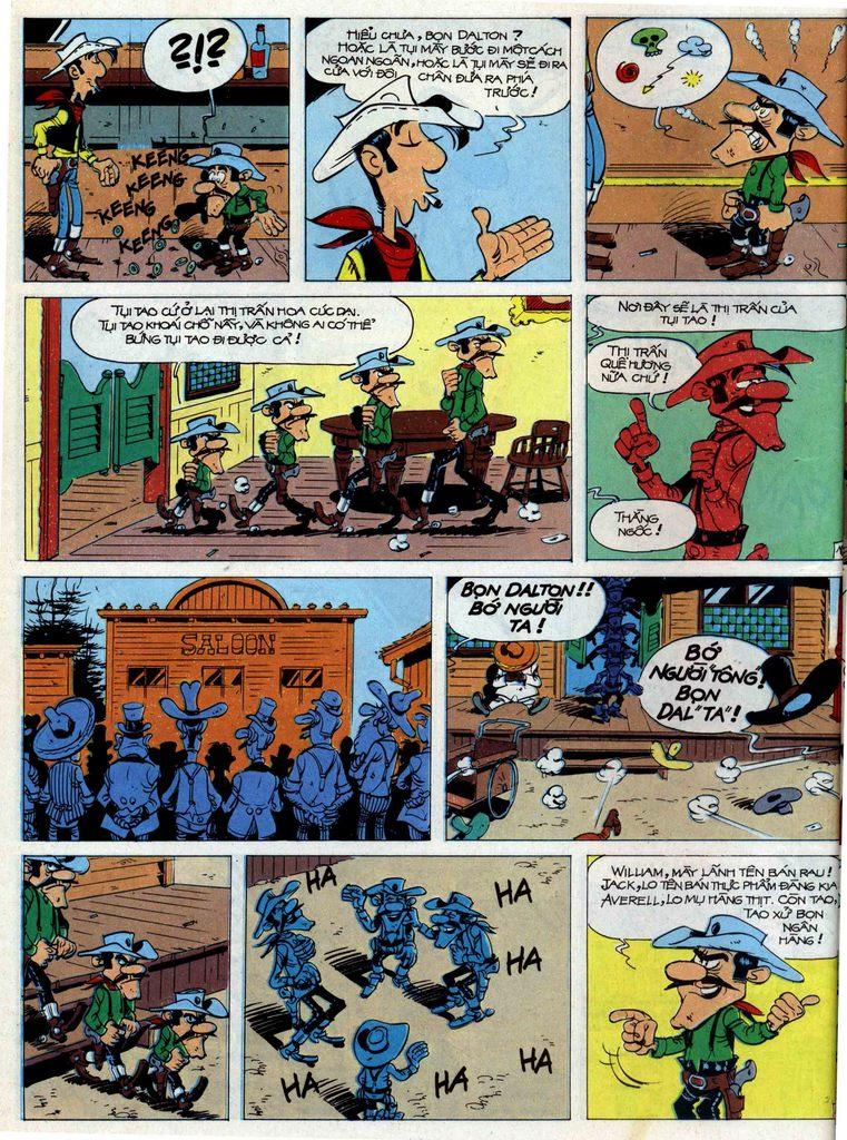 Lucky Luke tập 44 trang 18