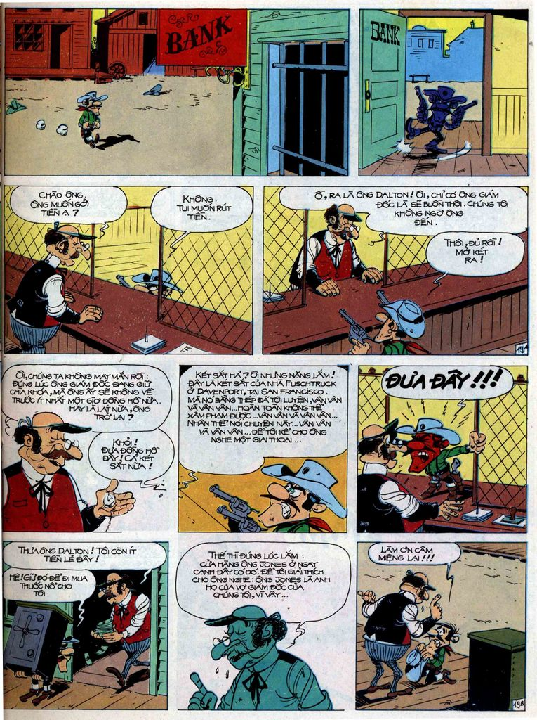 Lucky Luke tập 44 trang 19
