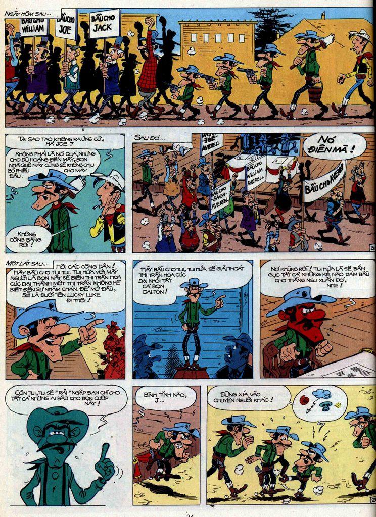 Lucky Luke tập 44 trang 22