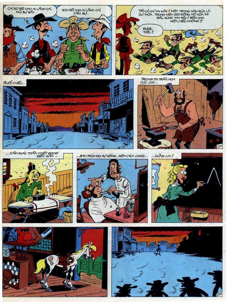 Lucky Luke tập 44 trang 23