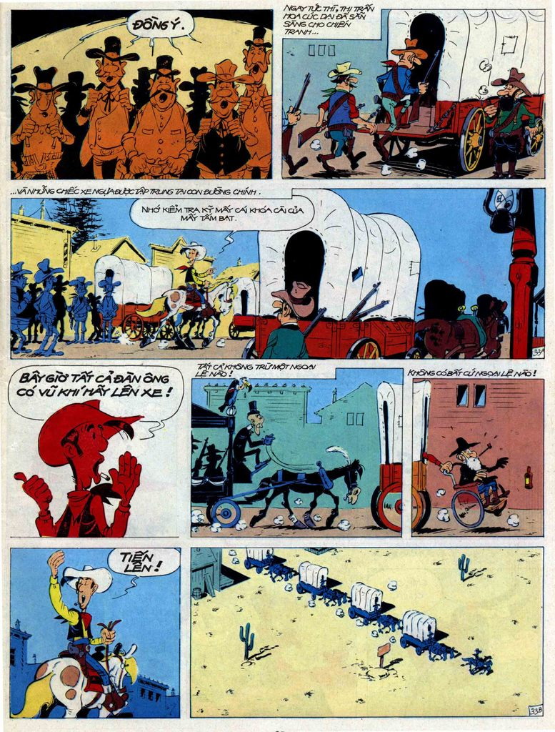 Lucky Luke tập 44 trang 33