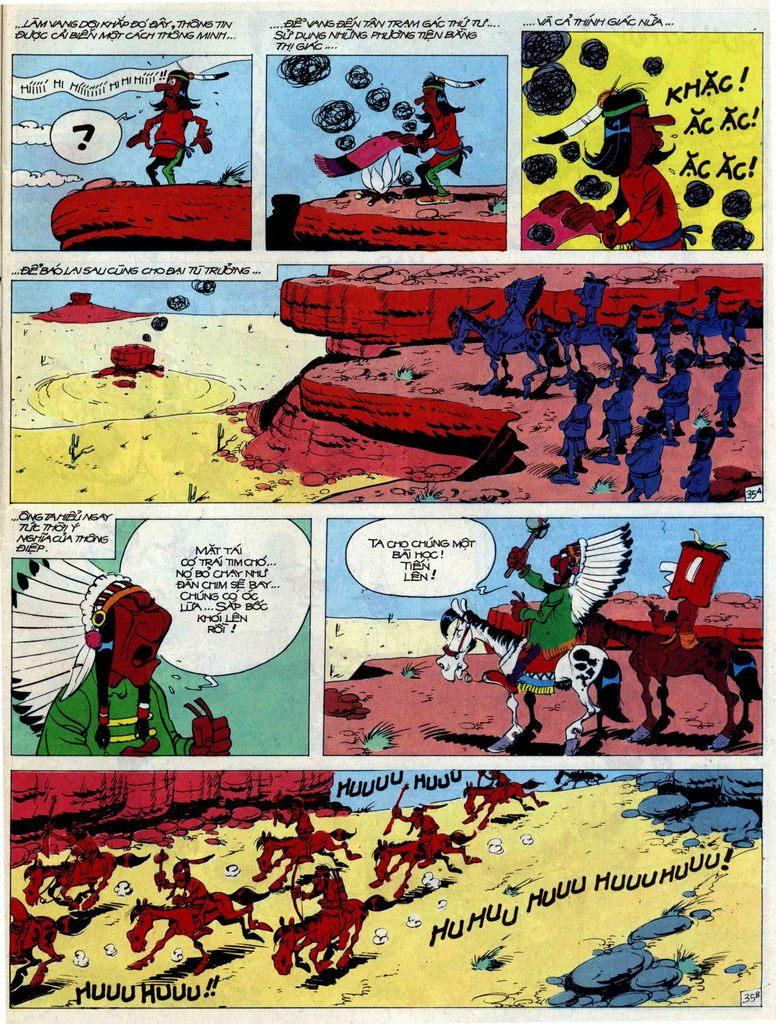 Lucky Luke tập 44 trang 35