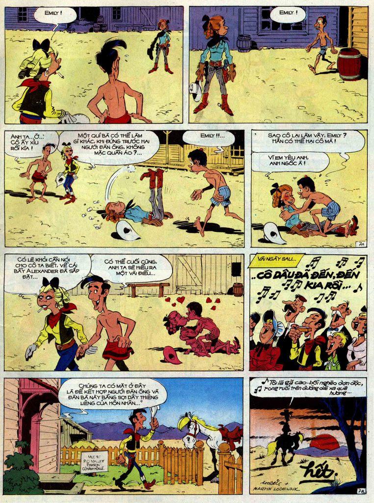 Lucky Luke tập 42 trang 33