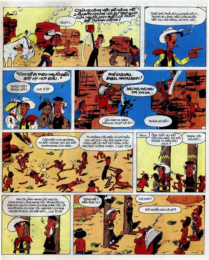 Lucky Luke tập 42 trang 35