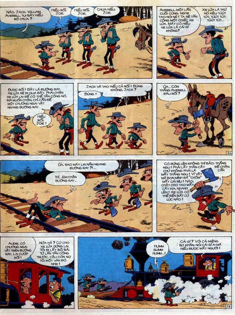 Lucky Luke tập 42 trang 9