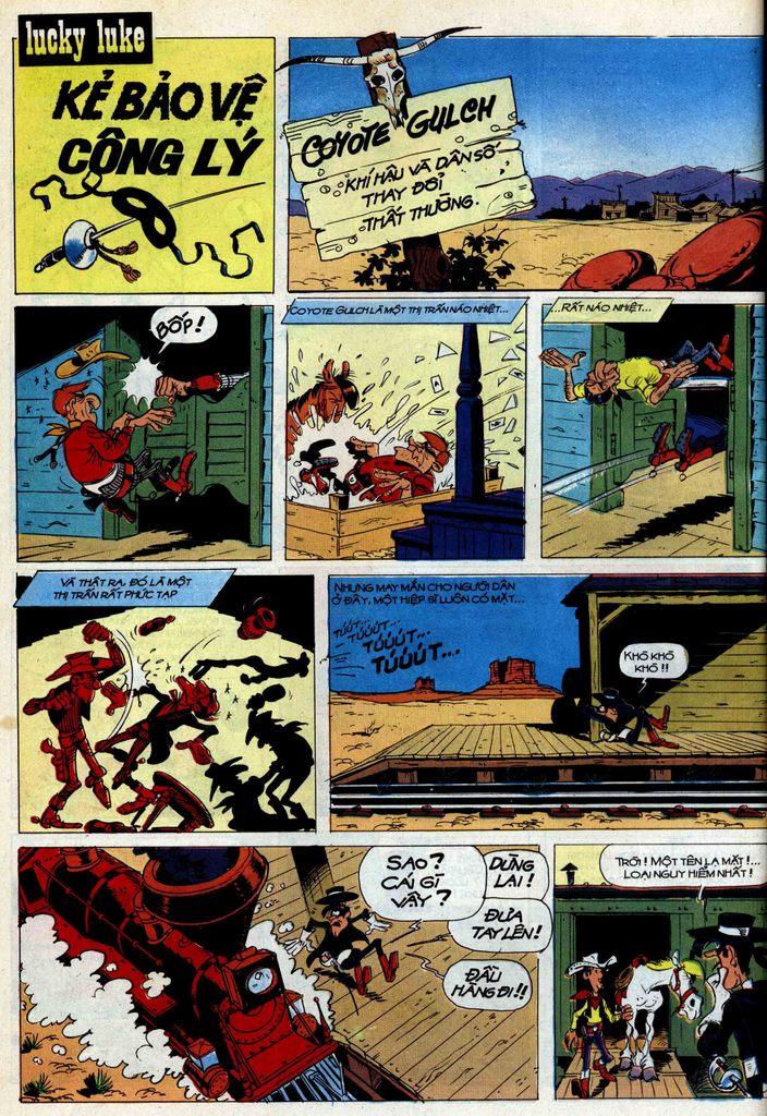 Lucky Luke tập 42 trang 14