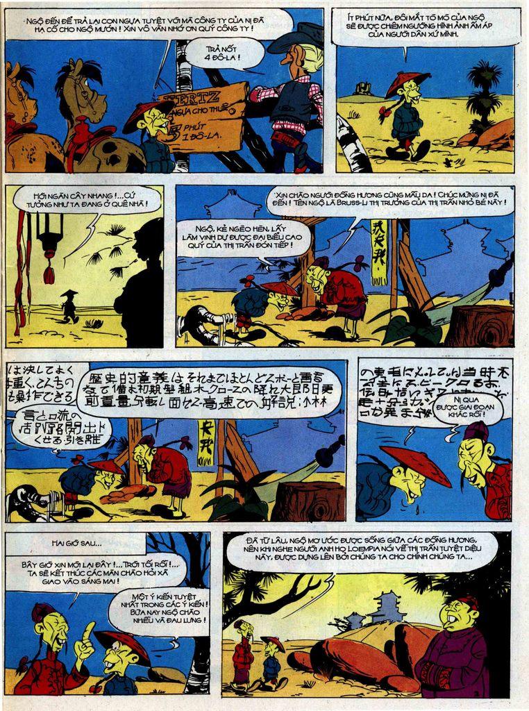 Lucky Luke tập 42 trang 39