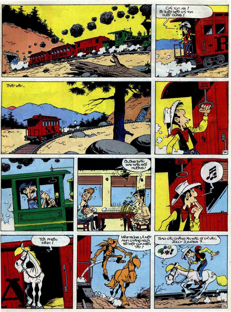 Lucky Luke tập 40 trang 5