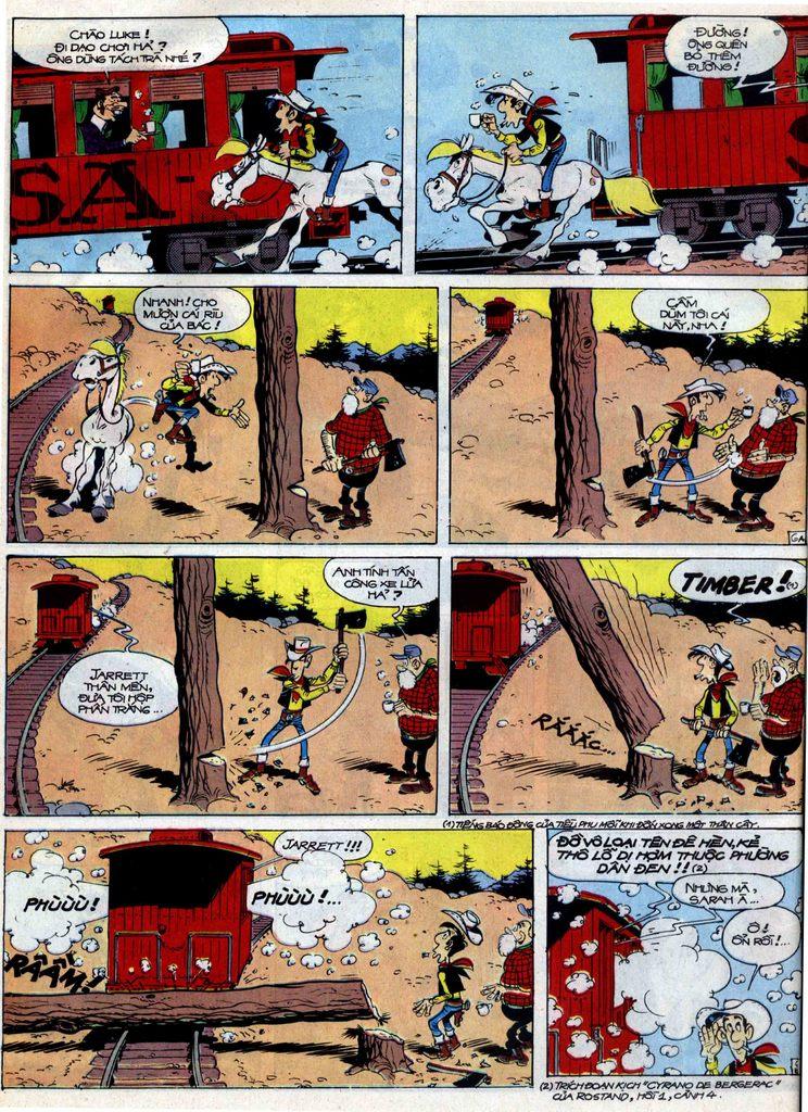 Lucky Luke tập 40 trang 6