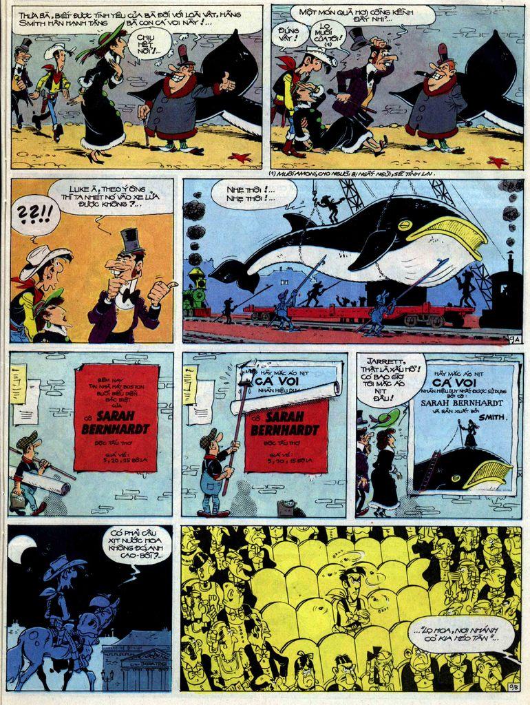 Lucky Luke tập 40 trang 9