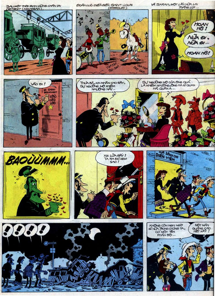 Lucky Luke tập 40 trang 14