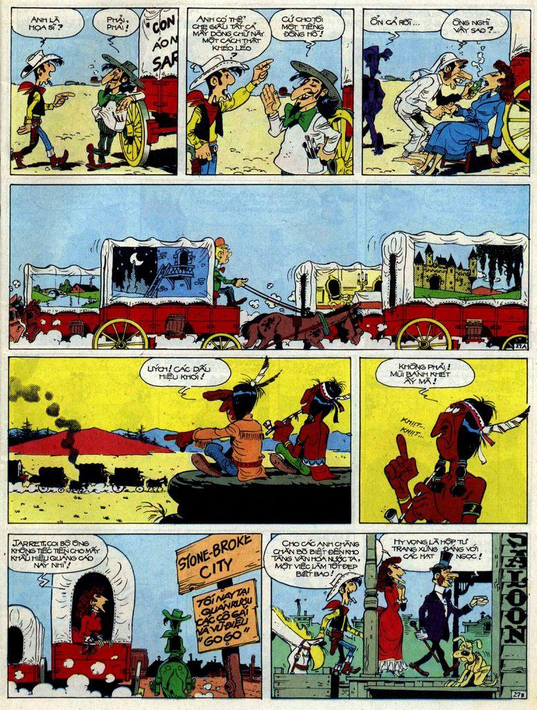 Lucky Luke tập 40 trang 27