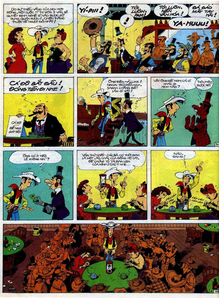Lucky Luke tập 40 trang 30