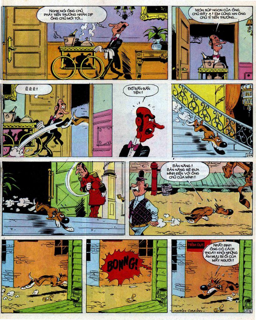Lucky Luke tập 39 trang 23