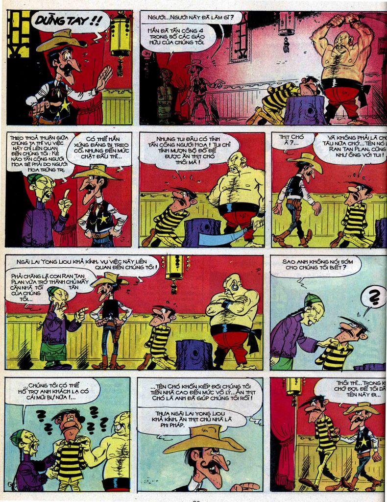 Lucky Luke tập 39 trang 18