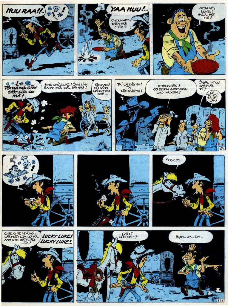 Lucky Luke tập 40 trang 37