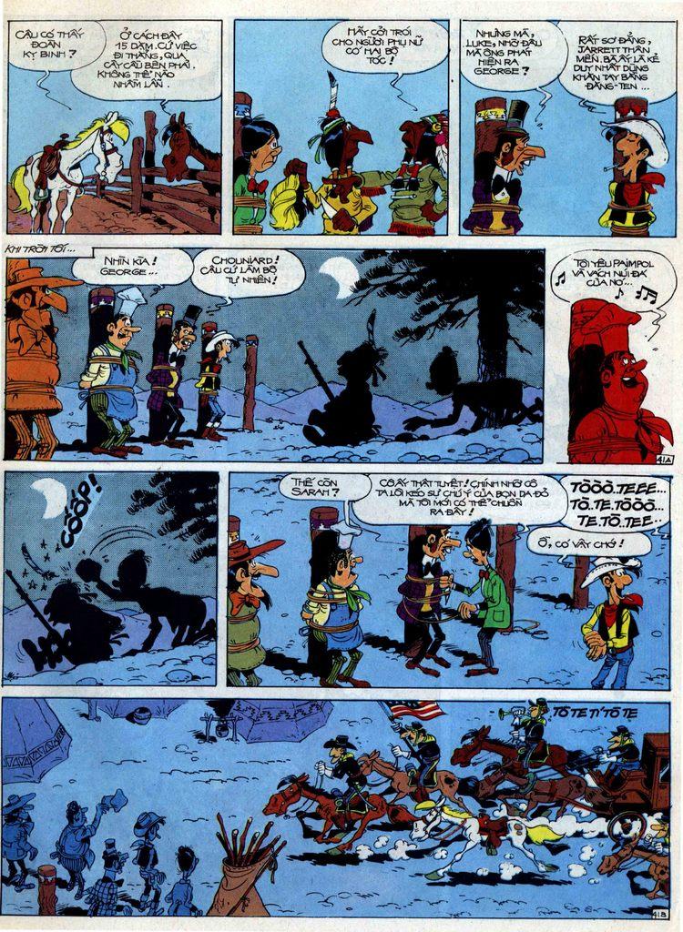 Lucky Luke tập 40 trang 41