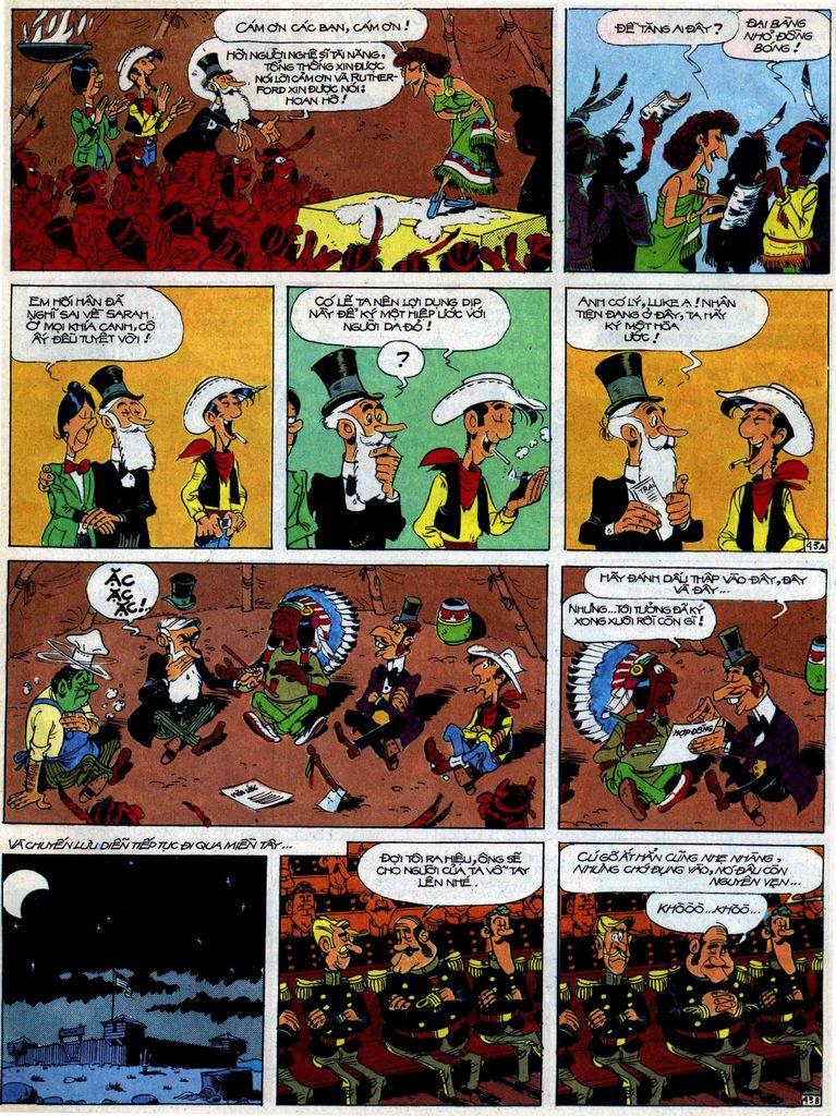 Lucky Luke tập 40 trang 43