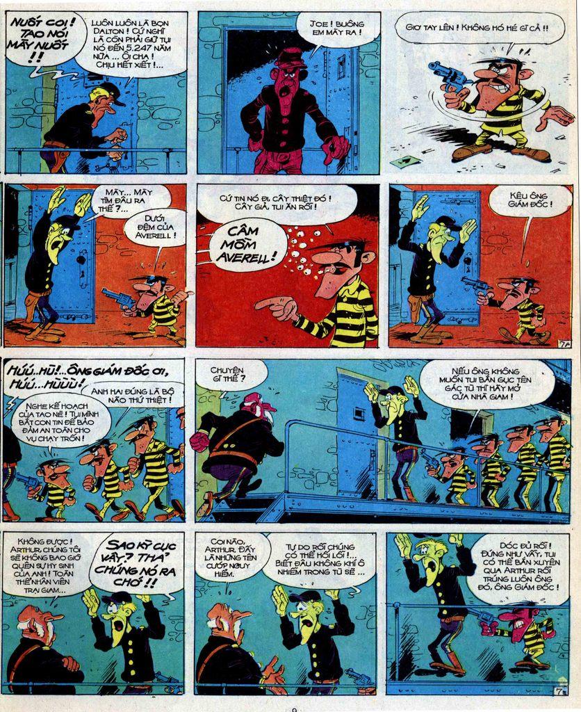Lucky Luke tập 39 trang 7
