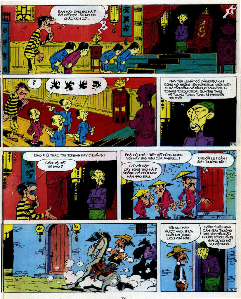Lucky Luke tập 39 trang 17