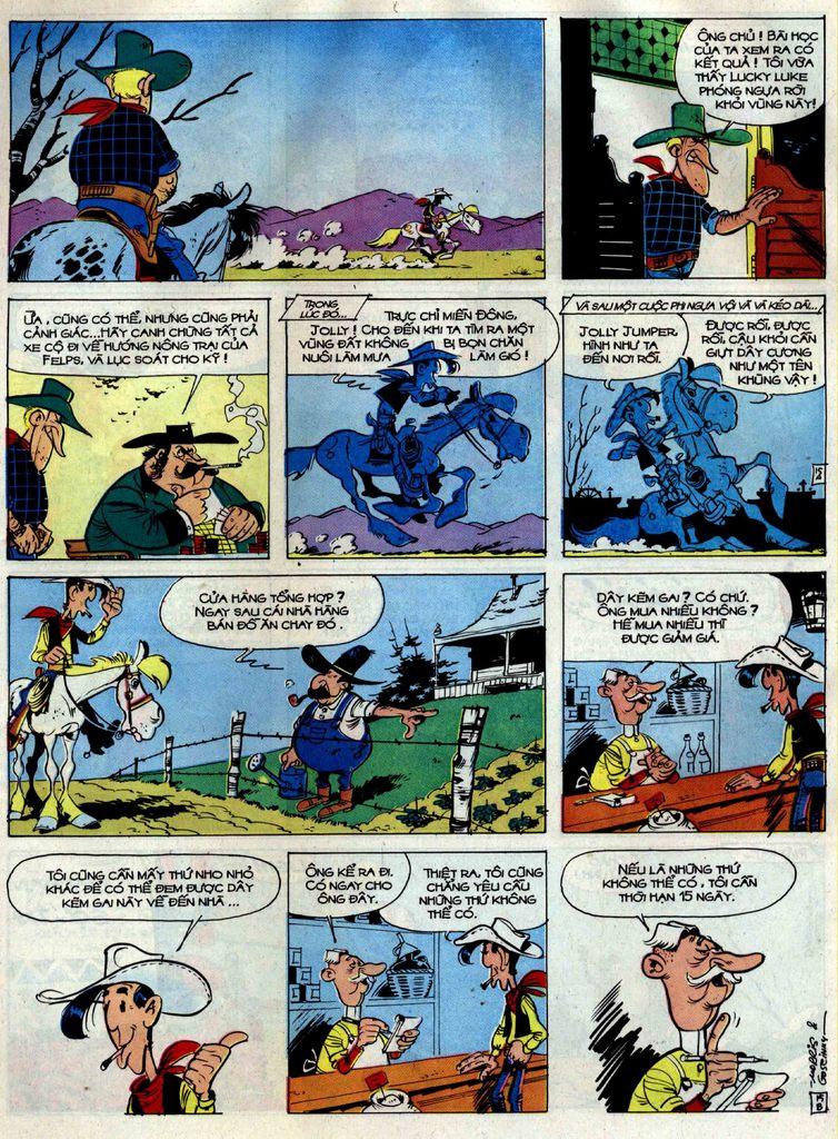 Lucky Luke tập 38 trang 15